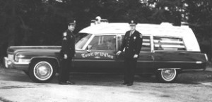 Chief Robert Northcott and Sergeant Richard Barringer-early 1970's