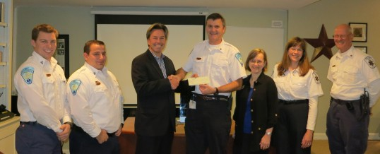 ABB Foundation Makes Generous Donation to the Wilton Volunteer Ambulance Corps, Inc.